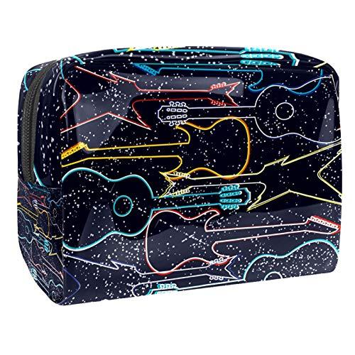 Colorido acústico y eléctrico Guita bolsa de cosméticos bolsa de viaje bolsas...