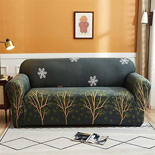 Funda Protectora del Sofá del Reposabrazos De La Sala De Estar del Hotel En Casa, Funda De Sofá Elástica Antideslizante, Extraíble Y Lavable, Plegable 3 Seater (190-230 cm)