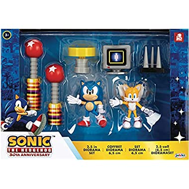 Sonic The Hedgehog 2.5-Inch Action Figure Diorama Set