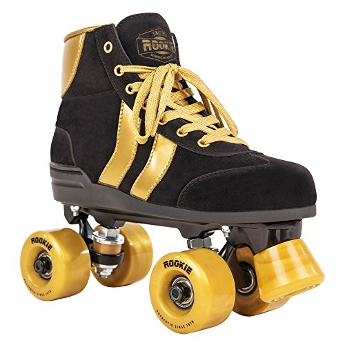 ROOKIE Mädchen Rollerskates Authentic RKE-SKA-215 35,5 Black/Gold
