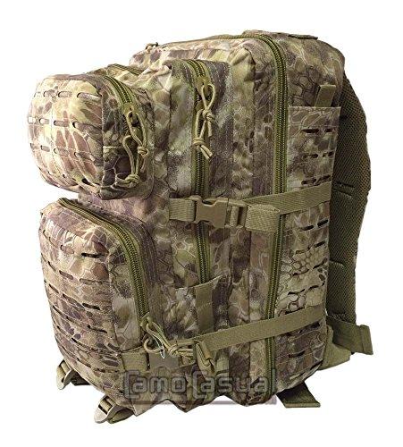 Sac à dos US Assault Pack Large Découpé au Laser Mandra - Kryptek Nomad ,Mandra Tan ,Large