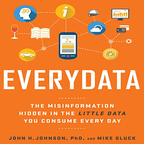 Everydata audiobook cover art
