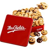 Mrs. Fields Classic Cookies Nibbler Tin, Pack of 60 chocolate chip 1 Count