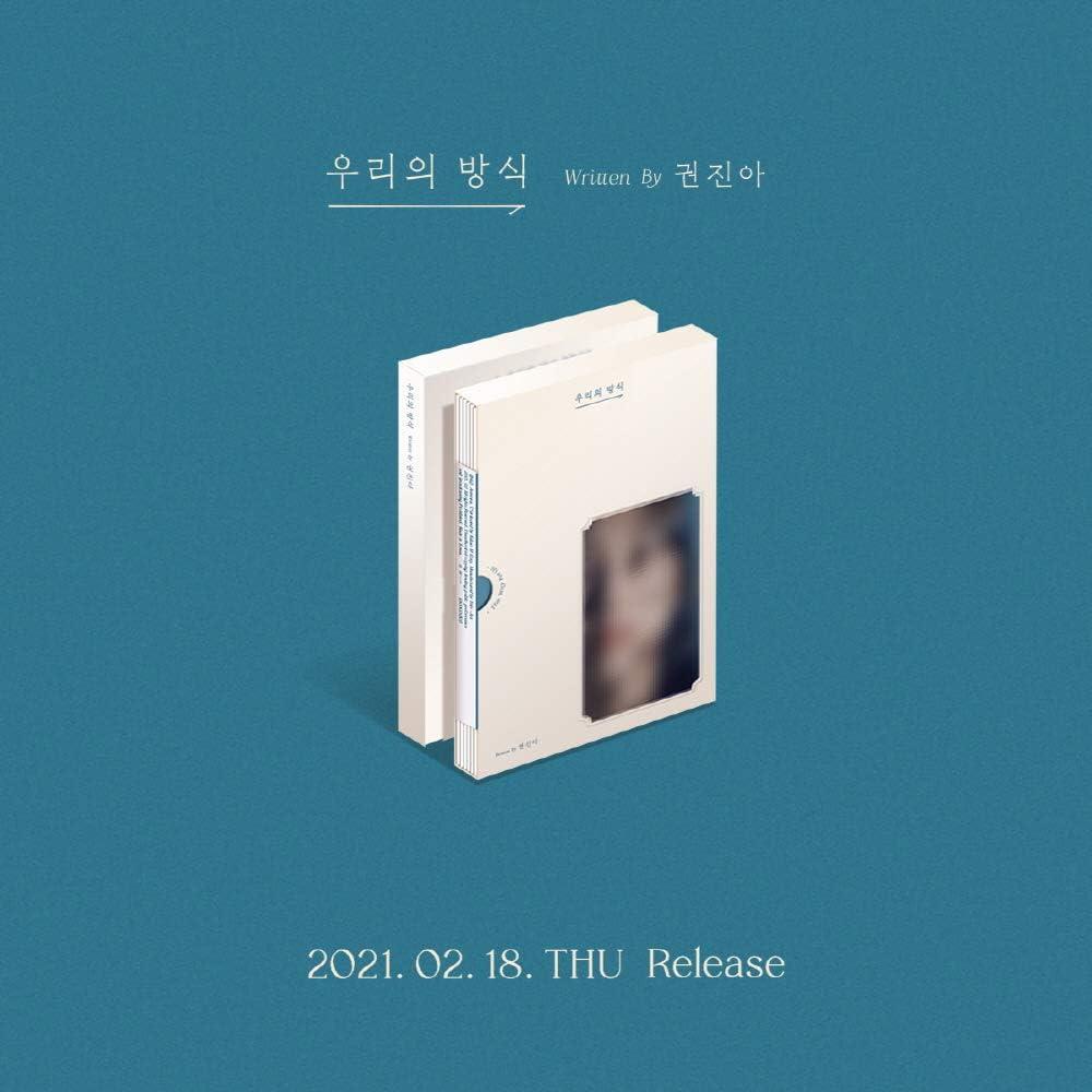 KAKAO M KWON JIN AH The EP Us for White Album Gorgeous Way Luxury goods
