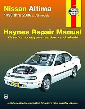 Nissan Altima  1993-2006  for Altima Haynes Repair Manual  USA
