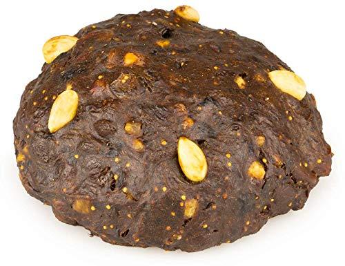 Bio Früchtebrot 450 g Hutzelbrot mit über 71 % Früchten vegan weizenfrei weihnachtlicher Genuss aus der Handwerksbäckerei