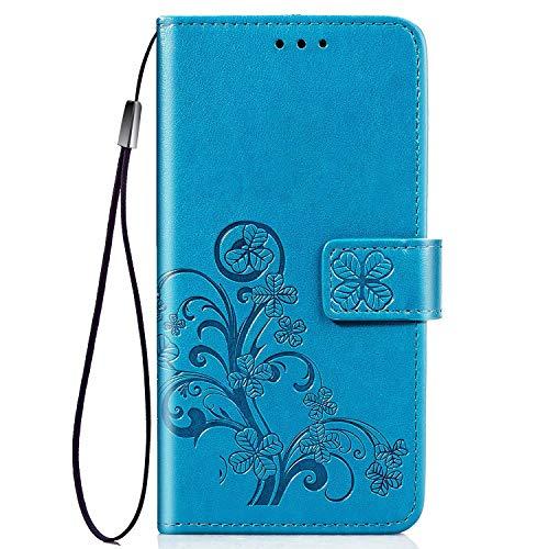 HUANGTAOLI Custodia in Pelle Portafoglio Cover per Xiaomi Mi 9 (6.39')