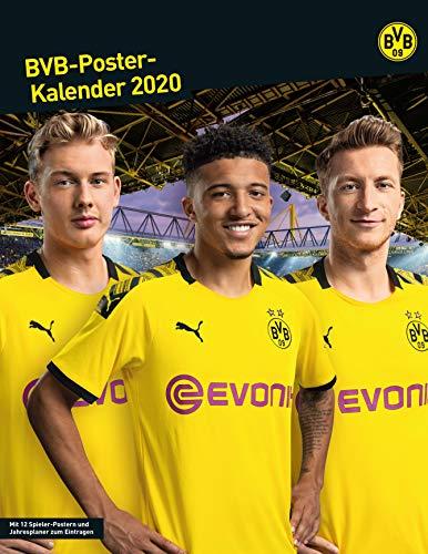 Sportpartner BVB Borussia Dortmund Posterkalender/Poster Kalender 2020