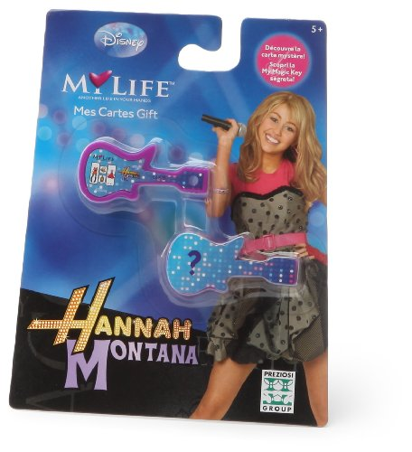 Giochi Preziosi - 9663 - My Life - Jeu éducatif Electronique - Mes cartes gifts Hannah Montana