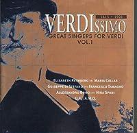 Verdissimo, Great Singers For Verdi Vol.1: V / A