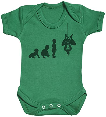 Baby Evolution to A Spider Man Body bébé - Gilet bébé - Body bébé Ensemble-Cadeau - Naissance Vert