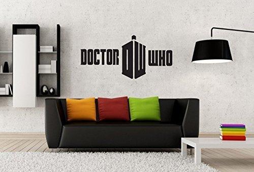 Dr. Who Logo Symbool Embleem Vinyl Muursticker Sticker Muursticker Muursticker