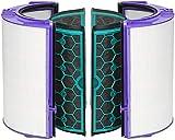 Zinc Products Dyson DP04 HP04 TP04 Pure Cool - Filtro HEPA de Vidrio purificador y Filtro Interior de carbón Activado