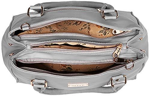 Nelle Harper Women's Shoulder Bag (Light Grey) (Numbers 1)