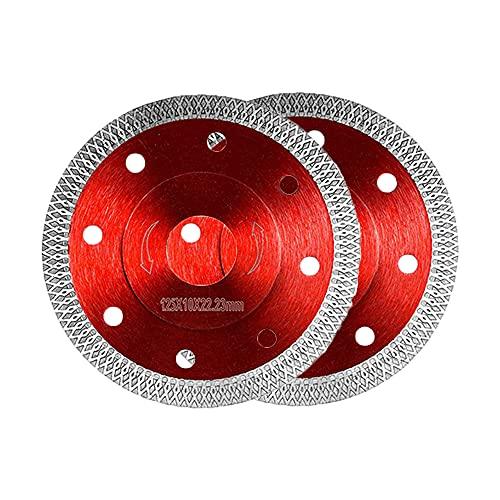 Diamant-Trennscheibe Fliese Feinsteinzeug 125 mm x 22,23 mm 125mm für Fliesen, Granit uvm. (für Winkelschleifer Ø 125x22,23)