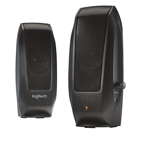 Logitech® Speakers S120 - Black - Analog - PLUGG - EMEA - UK