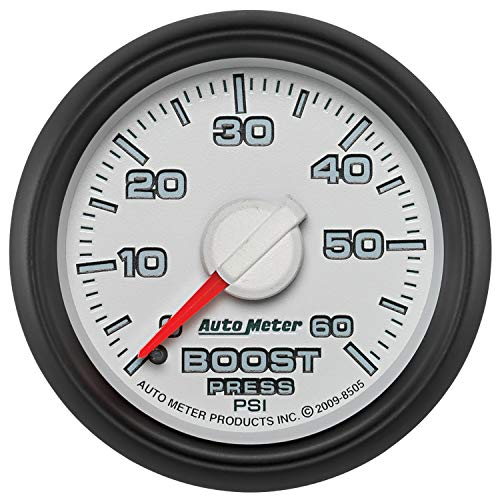 Auto Meter Autometer Factory Match 52.4Mm Mechanical 0-60 Psi Boost Gauge By Jm Auto Racing (8505)