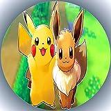 Decoración para tarta de cumpleaños Pokémon AMA 4