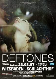 Best deftones concert posters Reviews