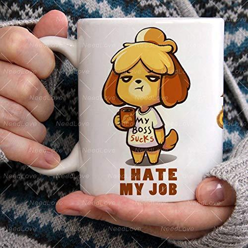 Animal Crossing New Horizons Coffee Mug Cup Funny Ceramic Coffee/Tea/Cocoa Mug Unique Office Gift