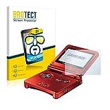 brotect Pellicola Protettiva Compatibile con Nintendo Gameboy Advance GBA SP Pellicola Trasparente (2 Pezzi) Anti-Impronte