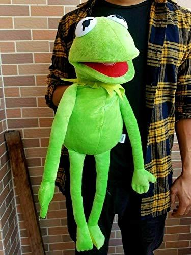 XKMY Juguetes de peluche The Muppets Marioneta Kermit Frog Bear Chef sueco Miss Piggy Gonzo Viejo juguete de peluche de regalo (color plata)
