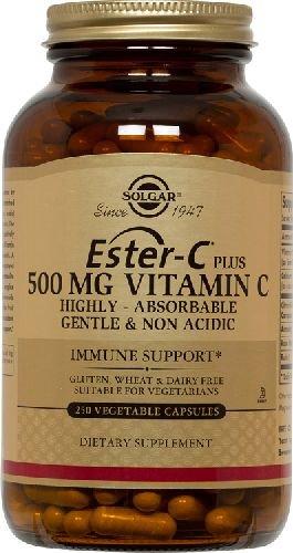 Ester-C Plus 500mg 250 Vcaps 2-Pack