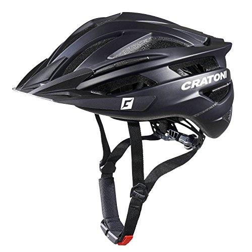 Cratoni Agravic Fahrradhelm, Black Matt, L-XL