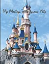 Disney World Orlando  Autograph & Photo Book My Magical Trip Capture: all of the magic character signatures for Girls and Boys - Black with Fireworks