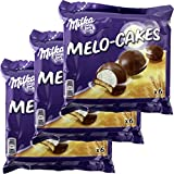 Milka Melo-Cakes 3 Packungen á 6 Stck. (Schaumzucker & Keks)