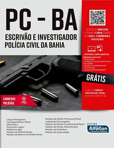 Escrivão e investigador Polícia Civil da Bahia - PC BA: Volume 1