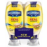 Hellmann's Real Mayonnaise Squeeze Size, 2 pk./25 oz. (pack of 2)