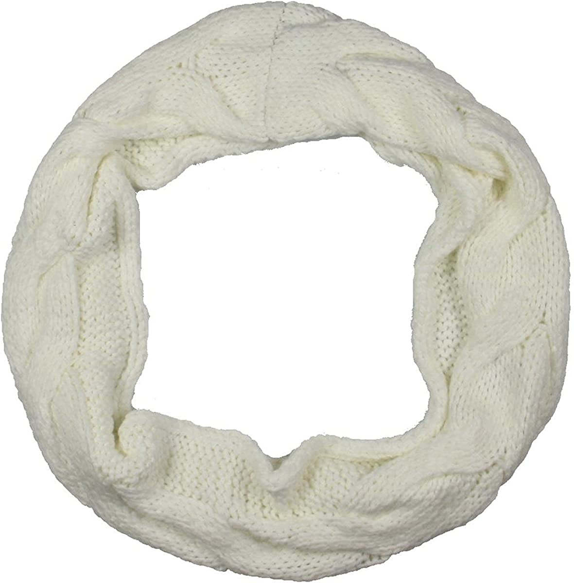 BCBGMAXAZRIA Womens Loop Cold Weather Infinity Scarf