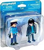 PLAYMOBIL Duo Pack- Policía y Ladrón, única (9218)