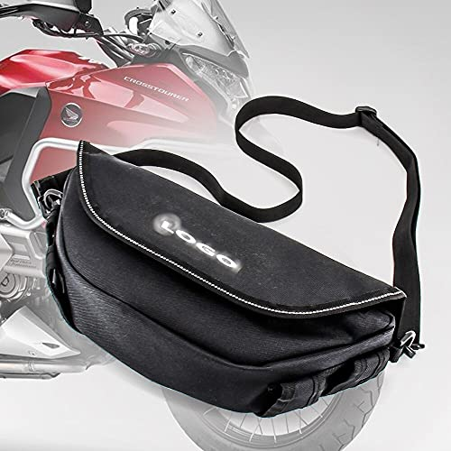 HWH Motocicleta impermeable bolsas de viaje Maleta Saddlebags y bolsa de manillar para ho.n.da af.ri.ca Twin CRF1000L SPORT NC700X VFR1200X Durable
