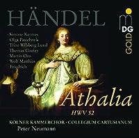 Handel: Athalia /Kermes ・ Pasichnyk ・ Lund ・ Cooley ・ Oro ・ Friedrich ・ Collegium Cartusianum ・ Neumann by Handel (2004-10-18)