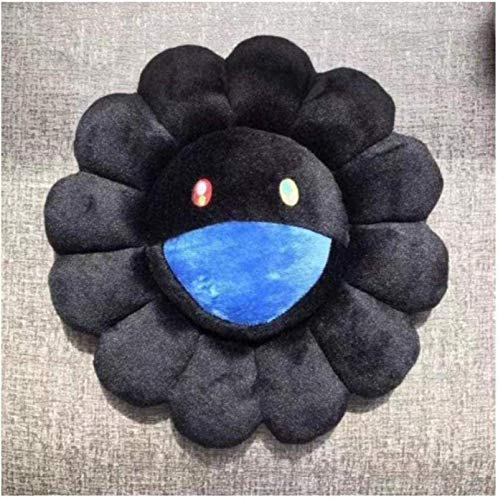 EREL Kissen Sonnenblume Kissen Weiche Puppe Plüsch Kissen Geschenk Sonnenblumenkissen 40 cm dedu