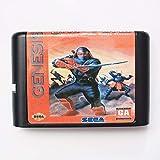 Aditi Shinobi Revenge of Ninja Master III16 Bitka MD game card for Sega Mega Drive for Genesis.