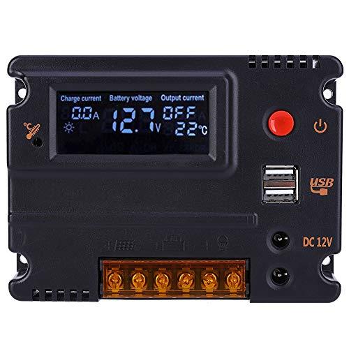 CMG2410 Solarpanel-Regler LCD-Hintergrundbeleuchtung Solarregler für Lithium-Eisenphosphat-Batterie der Serie 4/8