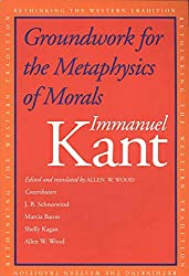 Book cover: Groundwork for the Metaphysics of Morals by Immanuel Kant