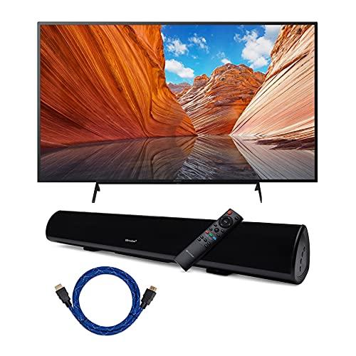 Sony KD50X80J BRAVIA 50-Inch 4K Ultra HD HDR LED Smart TV (2021 Model Year) with Knox Gear Wireless...