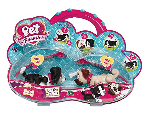 Giochi Preziosi 70185681 - Pet Parade Collie Und Mops In Blister