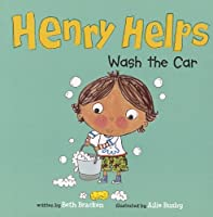 Henry Helps Wash the Car