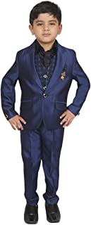 SG YUVRAJ Boy's Slim Fit Suit