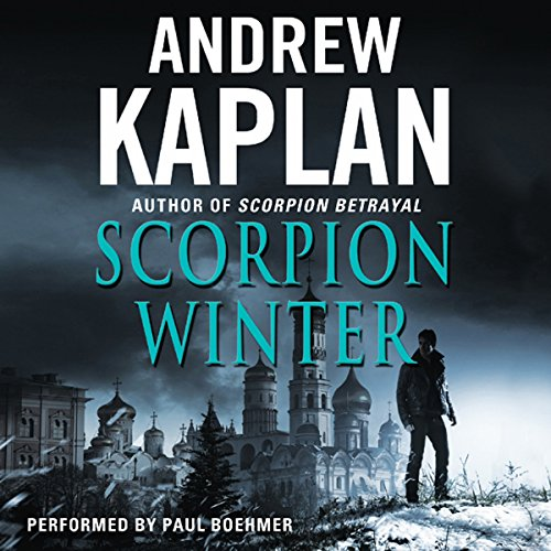 Scorpion Winter audiobook cover art