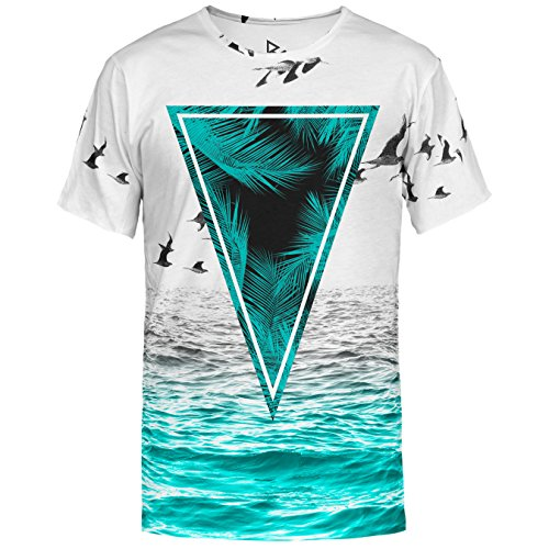 Blowhammer T-Shirt Uomo - Sea Noise Tee - M