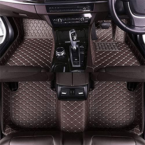 LIULIFE Tapetes De Cuero para El Piso del Coche para Opel Vectra 2006 Revestimientos De Piso De Lujo ProteccióN para Todo Tipo De Clima Alfombras Impermeables para Los Pies DiseñO Inodoro