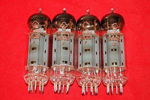 Fantastic Deal! 6p14p 4pcs. equivalent EL84 7189 6BQ5 Strong Matched Quad from 80's USSR