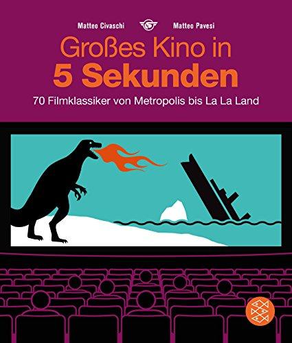 Großes Kino in 5 Sekunden: 70 Filmklassiker von Metropolis bis La La Land