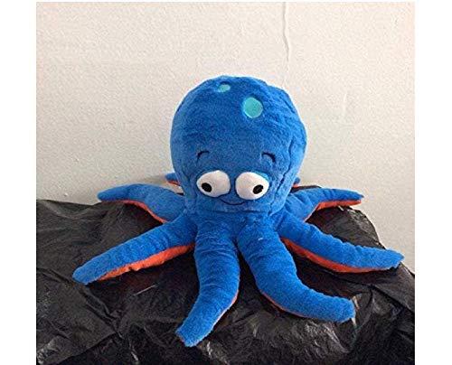 30Cm Blue Octopus Knuffeldier Soft Knuffels voor babypop
